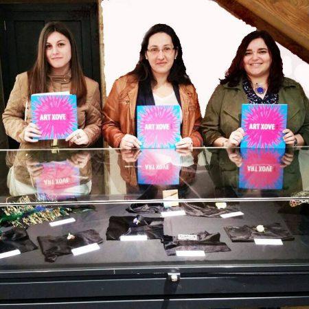 Varias diseñadoras de joyas de la escuela de joyería del Atlántico presentes en ART-XOVE