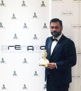 La Escuela T. de Joyería del Atlántico recibe el Premio Nacional de Moda PRENAMO 2018
