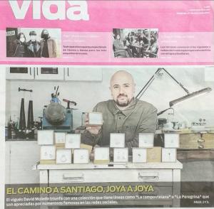 """Proyecto """"Mi Camino Joyas"""" realizadas por David Moledo con motivo el año Xacobeo 2021"""