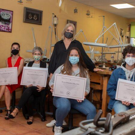 TOUS reconoce a los estudiantes de la Escuela Técnica de Joyería del Atlantico